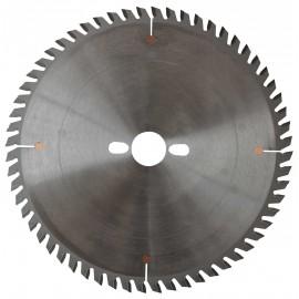 Lame HM micro-grain mise à format 250x30x60Z TP / Bois Stratifés