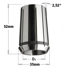 Pince pour mandrin 183 320 d8 mm din 6388 precision collet  ref 18508000 *