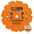 Lame circulaire diamant pour machine portative 230 x 1.6 / 2.2 x z 4   al 30 pour decoupe materiaux abrasifs, mdf,  ref 23623004
