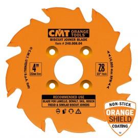 Lame circulaire carbure dia 100 x 3.0 / 3.96  z.8 al22 4 te / 4.5 - 9.5/36   ref 24000804