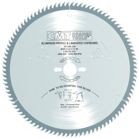Lame circulaire carbure ø 225 x 2.2/2.8 z.64 mftn al 30 + 2/7/42