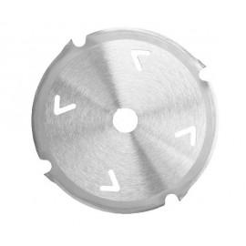 Lame de scie diamantée, 160 x 2,4/3,0 x 20 mm, 4 dents, (denture plate/denture trapeziodale) pour matière à base de ciement