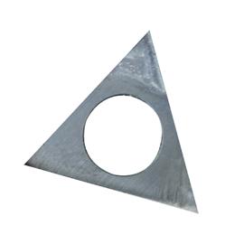Fer de chanfrein 22 x 22 x 2 mm (il en faut 4)