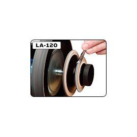LA-120 Disque de démorfilage profilé en cuir