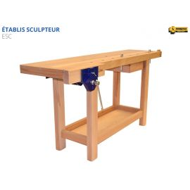 Etabli de Sculpteur - Qualité Professionelle / Fabrication Francaise - Etablis Francois