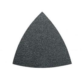 Feuilles abrasives triangulaires non perforées  grain 100 (5)