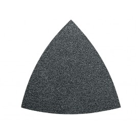 Feuilles abrasives triangulaires non perforées  grain  36 (5)