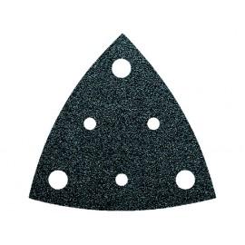 Feuilles abrasives triangulaires perforées  grain  40 (5)