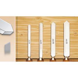 Ciseaux à façonner, profil pointu, angle 90° - sélectionnez la largeur