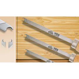 gouges de tournage haumesser d couvrez set outils de. Black Bedroom Furniture Sets. Home Design Ideas