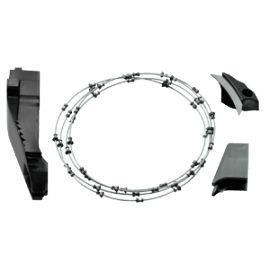 Câble de sciage avec 2 pièces racleurs DSS-SR