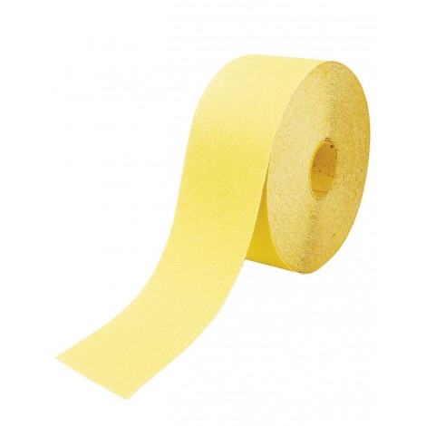 ROULEAU PAPIER 120mm X 25 ml GR 120 CORINDON JAUNE