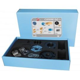 COFFRET 2 P.O. Al.30 et accessoires / Avt 15mm / usinage portes