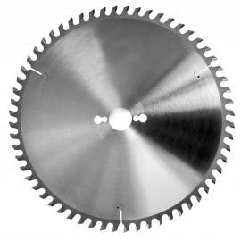 Lame HM micro-grain mise à format 250x30x48Z Gouge / Panneaux
