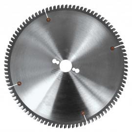 Lame carbure micro-grain 250x30x80Z Nég. TP / Métaux non-ferreux