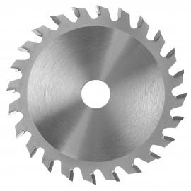 LAME CARBURE inciseur conique 100X3,1-4,3X20 Z18 Plate / Panneaux