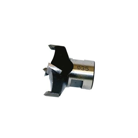 MECHE à façonner HM sans mandrin fileté D.80 / Fil.M16