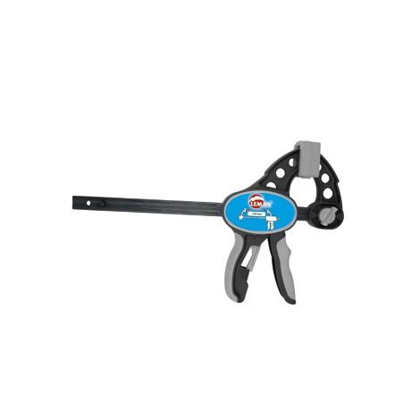 Serre-joint rapide Tige acier saillie 85 section 20x5 serrage 450