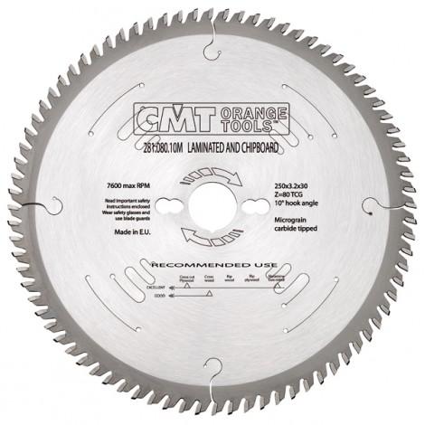 Lame circulaire  scie a format dia 250 x 2.2 / 3.2 z.60 al 30   ref 28106010m