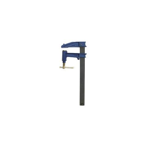 Serre-joint à pompe Tige acier saillie 120 section 35x8 serrage 1500