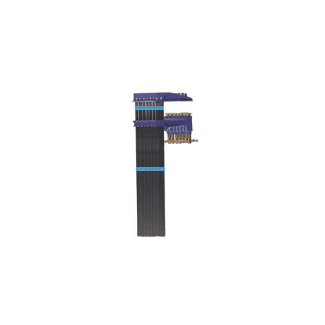 LOT 6 S.J. Tige acier saillie 120 section 35x8 serrage 600/800/1000