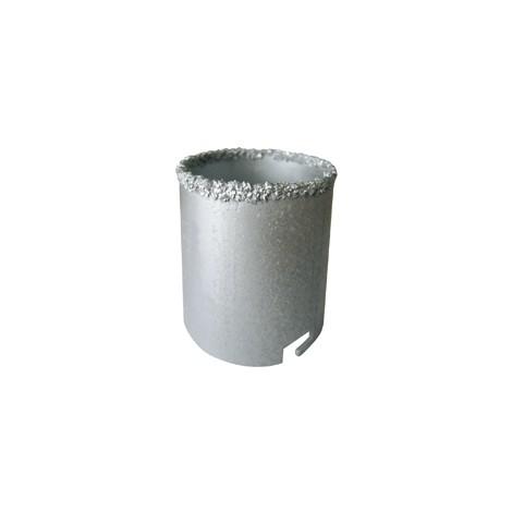 TREPAN CONCRETION CARBURE D.53 HT.55 faience/cloison