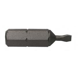 Embout de vissage à FENTE DIM.1.2 X 6.5 / 25mm