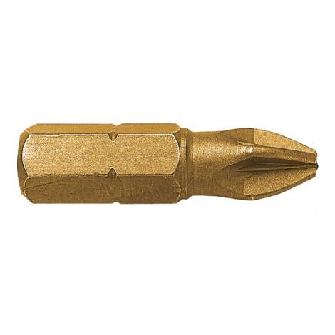 Embout de vissage TITANE POZIDRIV PZ N°3 / 25mm