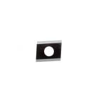 Fer réversible pour 090151, acier à coupe très rapide, 20,6 x 15,5 x 2 mm
