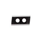 Fer réversible pour 090175, acier à coupe très rapide, 30,2 x 15,5 x 2 mm