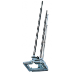 Support de perçage jusqu'à une profondeur de perçage de 350 mm (sans douille de centrage)