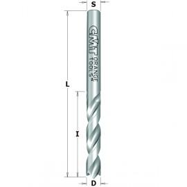 Meche a percer helicoidale carbure monobloc s2.5    i27    l55     avec inciseur negatif   rot. gauche ref 36302522**