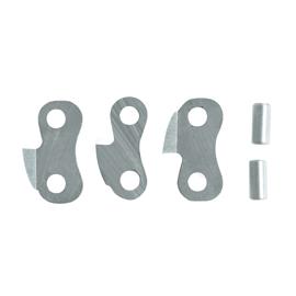 5 maillons doubles pour chaînes à mortaiser de   9 mm