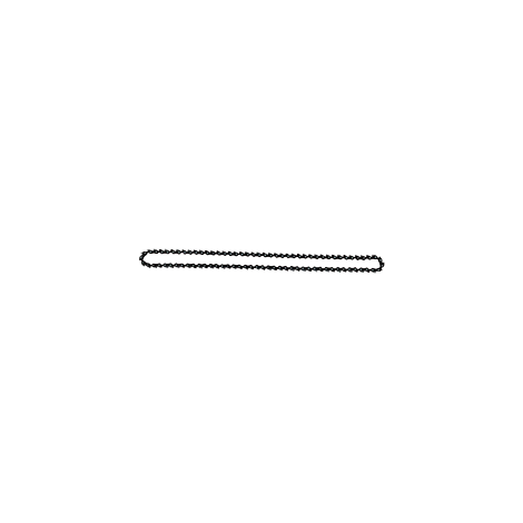 Chaîne pour une épaisseur d'entaille de 11 mm (59 maillons double)