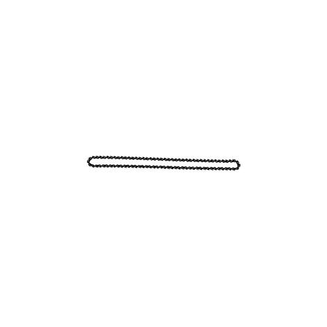 Chaîne pour une épaisseur d'entaille de 15 mm (68 maillons double)