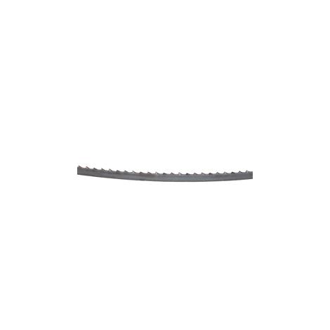 Lame de scie à ruban, 10 pièces (6 mm de large, 6 dents/pouce pour des coupes en courbe)