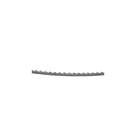 Lame de scie à ruban, 10 pièces (6 mm de large, 4 dents/pouce pour des coupes en courbe)