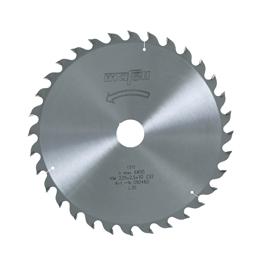 Lame de scie au carbure, 225 x 1,8/2,5 x 30 mm, 32 dents, denture alternée pour usage universel, bois