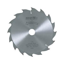 Lame de scie au carbure, 160 x 1,2/1,8 x 20 mm, 16 dents, denture alternée, pour coupes longitudinales, bois