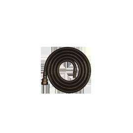 2,5 m de tuyau d'aspiration 49 mm avec cône 58 mm - statique