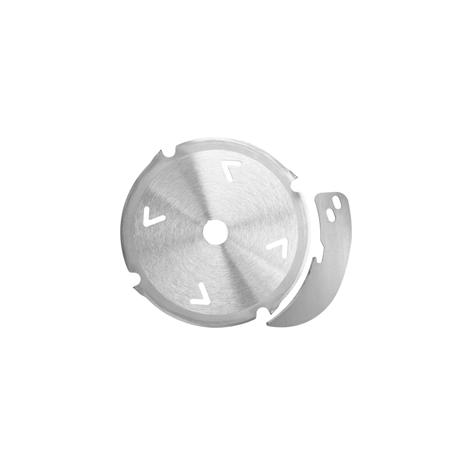 Set de lame scie diamantée 160 x 2,4/3,0 x 20 mm,  4 dents, denture plate/denture trapézoïdale, couteau diviseur inclus