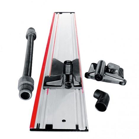 Règle à dépression F-AF 1, avec règle de guidage, adaptateurs pour en haut et en bas, tuyau flexible