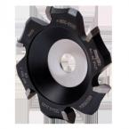 Fraise à plaques en aluminium MF-AF 90, pour rainures en V à 90° jusqu'à une profondeur de fraisage de 8 mm
