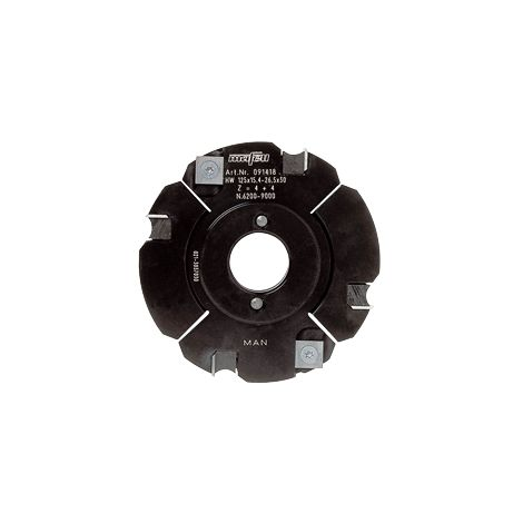 Fraise à rainurer au carbure extensible, Ø 125 x 15,4 – 26,5 x 30 mm