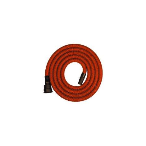 4 m de tuyau d'aspiration 21 mm avec cône tendre 35 mm - antistatique