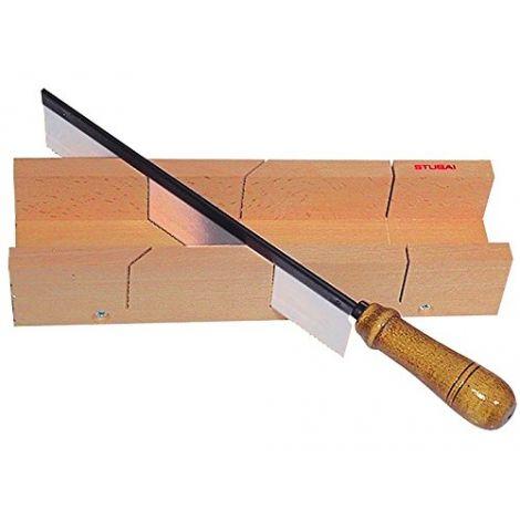 Boîte à onglet, scie à cheville 250mm    300x15