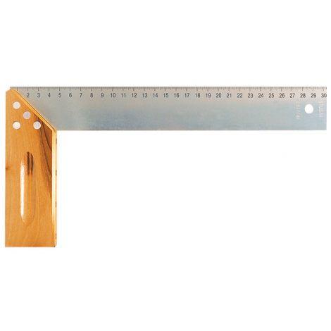 Equerre de menuisiers avec onglet    400 mm