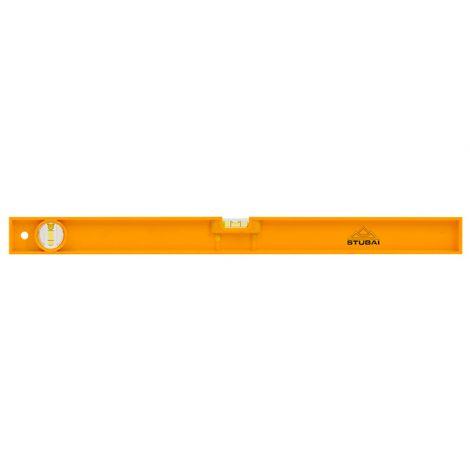 Niveau en plastique jaune K030    300 mm