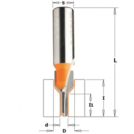 Fraise pour siege pour vis d11.1mm, longueur de coupe20.6mm  ref 91320111