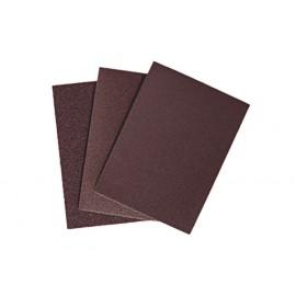 Lot de 25 Papiers abrasifs pour set de ponçage de profils - Grain : 80